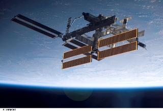 ISS as seen from the Shuttle
